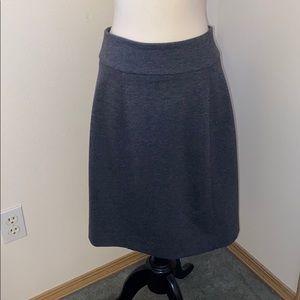 BCBGmaxazria gray A line skirt .
